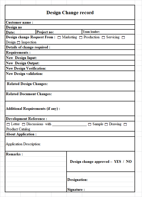 ISO 9001:2015 Documentation Template – TRACE INTERNATIONAL